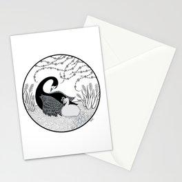 Black Swan and Moonlark Stationery Cards