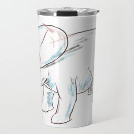 Dinosaurs 3 - Brachyceratops Travel Mug