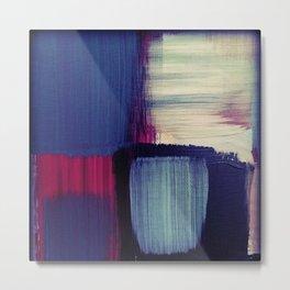 minimal painting, simple colours, block colours Metal Print