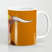 bull Mugs featuring Bull by ale_z