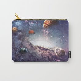 planets of the solar system galaxy Carry-All Pouch