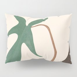 Minimal New Leaf Pillow Sham
