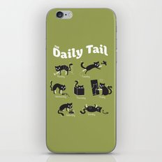 The Daily Tail Cat iPhone & iPod Skin