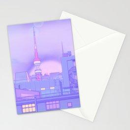 Blue Nostalgia Stationery Cards