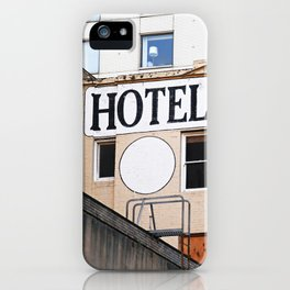 H OTEL iPhone Case