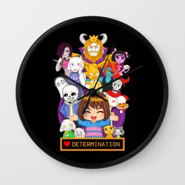 Determination Wall Clock