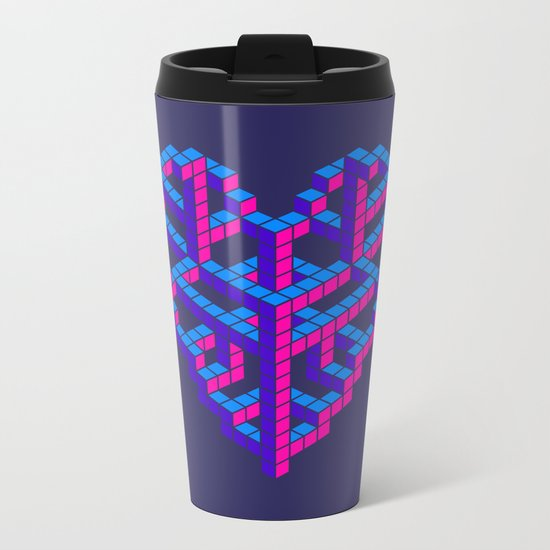 Impossible Love Metal Travel Mug