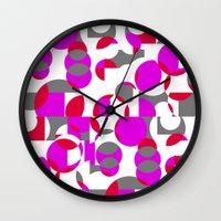 chakra Wall Clocks featuring Chakra Movements  by MZ Designs