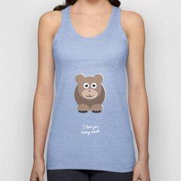 I love you beary much - Cute bear  Unisex Tank Top