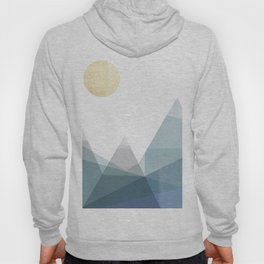 Geo Mountains Hoody