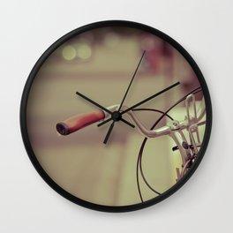 """All that spirits desire, spirits attain"" - Khalil Gibran Wall Clock"