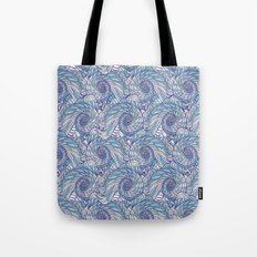 Peacock Swirl - original Tote Bag