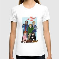the breakfast club T-shirts featuring The Breakfast Club by Dasha Borisenko