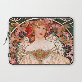 """Alfons Mucha """"F. Champenois Imprimeur-Éditeur"""" Laptop Sleeve"""