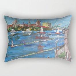 Expression Rīga, Latvia Rectangular Pillow