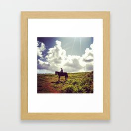 Gunstock Ranch Framed Art Print