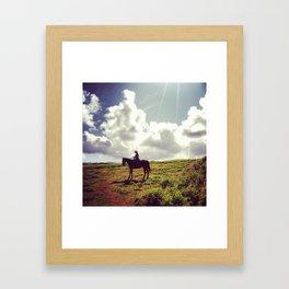 Gunstock Ranch Framed Art Print