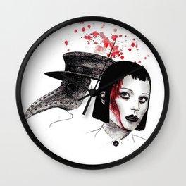 Doctor Plague II Wall Clock