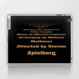 E.T. cast & Crew Laptop & iPad Skin