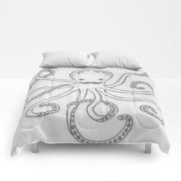 Hipster Octopus Comforters