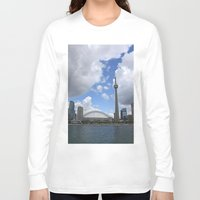 toronto Long Sleeve T-shirts featuring Toronto by Rose&BumbleBee