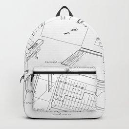 Korg MS-20 - exploded diagram Backpack