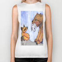 gift card Biker Tanks featuring Gift by Sparki Wolf