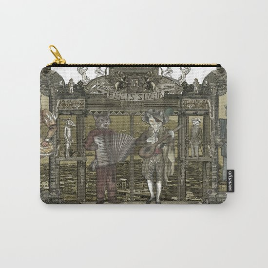 Steampunk Rock Band Carry-All Pouch