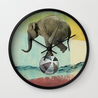 balance Wall Clocks featuring Balance by Vin Zzep