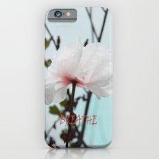 Matilija White Poppies iPhone 6s Slim Case