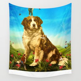 Our Giant Mascot Wall Tapestry