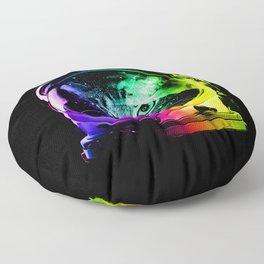 Astronaut Cat Floor Pillow