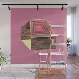 Pink Virtual House Wall Mural