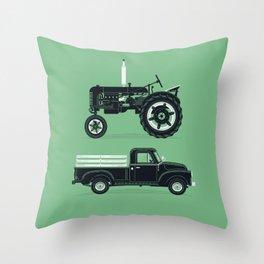 Good Machinery Throw Pillow