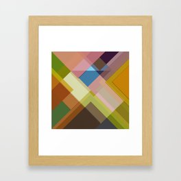 Abstract Composition 634 Framed Art Print
