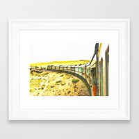 train Framed Art Prints featuring Train by Mr and Mrs Quirynen