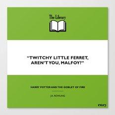 Twitchy Ferret Canvas Print
