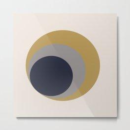 Nested Circles Metal Print