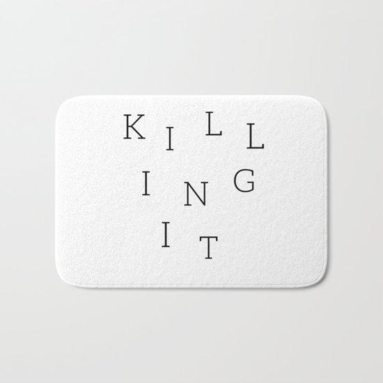 Killing It Bath Mat