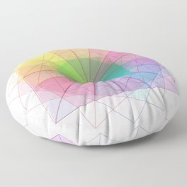 geometric abstract 1 Floor Pillow