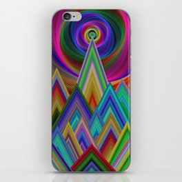 Summer Night at the Mountains iPhone Skin