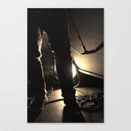 Hot Jeans Canvas Print