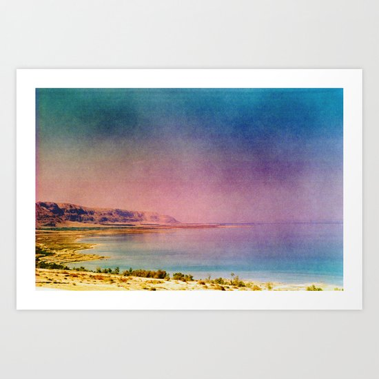 Dreamy Dead Sea IV Art Print