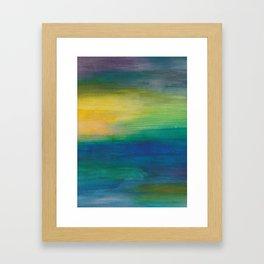 Ocean Sunset Series 2 Framed Art Print