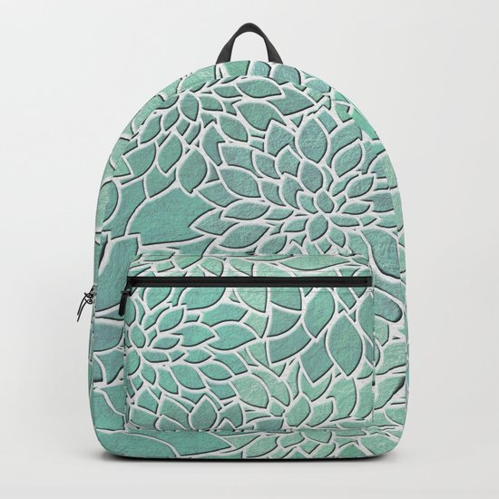 Floral Abstract 28 Backpack