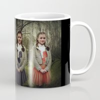twins Mugs featuring Twins by Lídia Vives