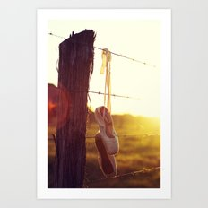 Country Ballet Art Print