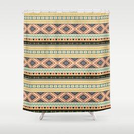 Tribal #3 * Ethno Ethnic Aztec Navajo Pattern Boho Chic Shower Curtain