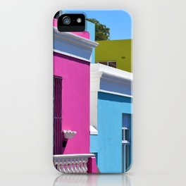 Bo-Kaap, South Africa #society6 #decor #buyart iPhone Case