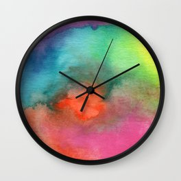 Rainbow Cloud Wall Clock